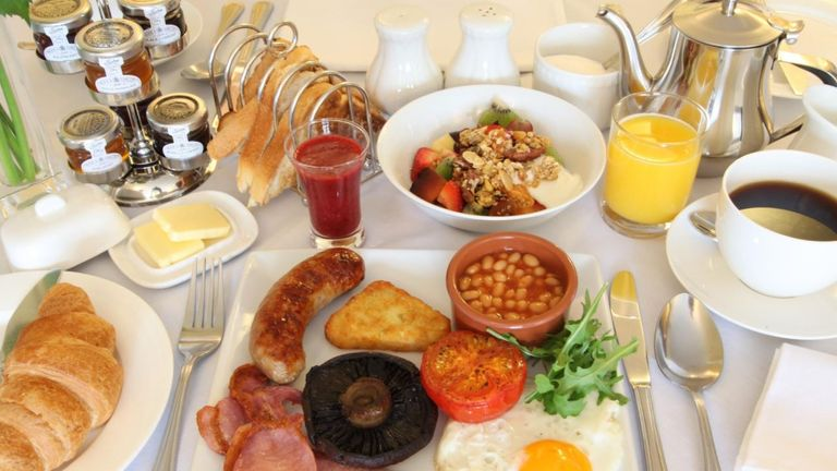 The freshly cooked breakfasts were singled out for praise by one guest. Pic: TripAdvisor