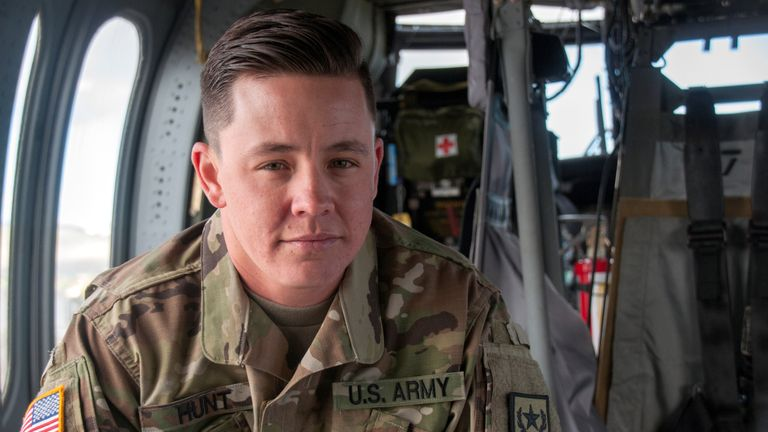 Sergeant Sam Hunt was the first openly transgender soldier of the Nevada National Guard
