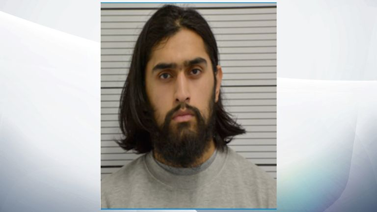 Ummariyat Mirza plotted to attack people in the West Midlands. Pic: West Midlands Police