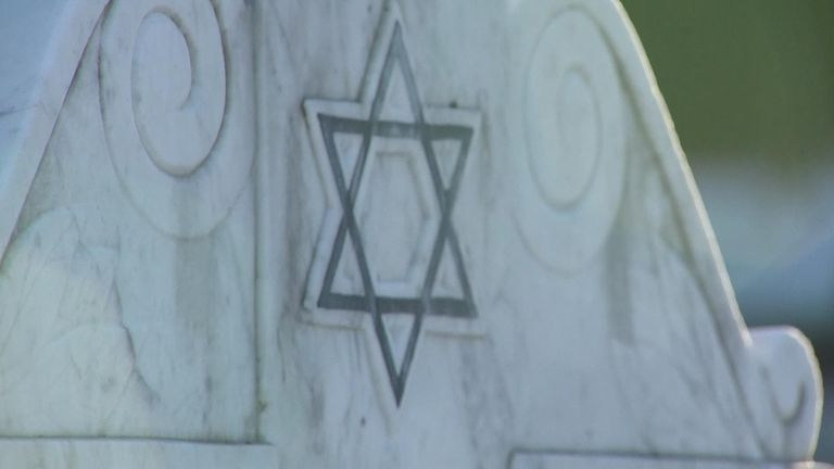 Six unknown victims of the holocaust will be buried in North London on Sunday at a service that will be the first of its kind in the UK.