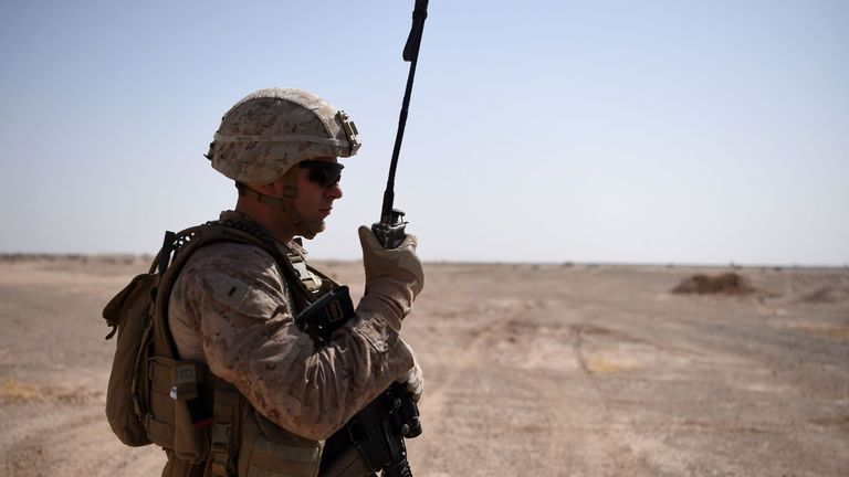 US troops have been fighting in Afghanistan since 2001