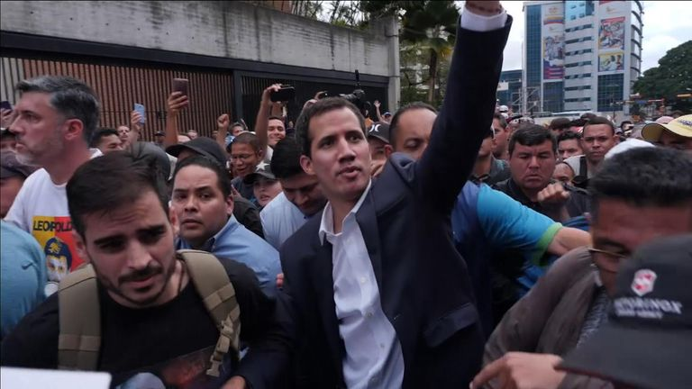 Juan Guaido has galvanised the opposition in Venezuela