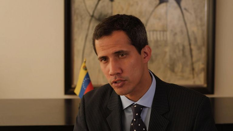 Juan Guaido has called for more protests