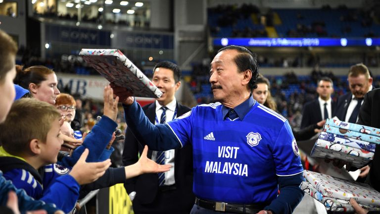 Cardiff FC's owner is the Malaysian-Chinese businessman Vincent Tan