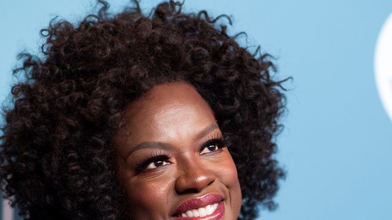 Actress Viola Davis attends The Hollywood Reporter's Power 100 Women In Entertainment at Milk Studios, in Los Angeles