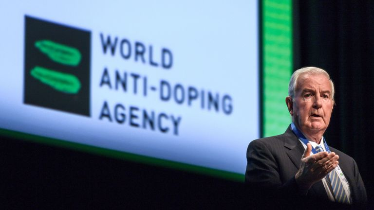World Anti-Doping Agency (WADA) president Craig Reedie