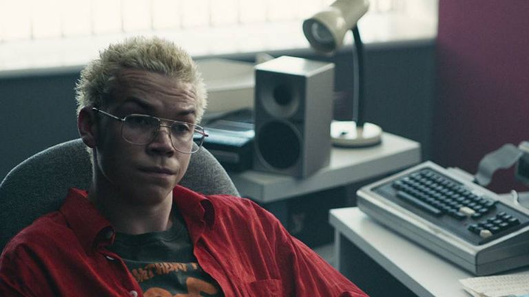 Will Poulter as Colin Ritman in Black Mirror. Pic: Netflix