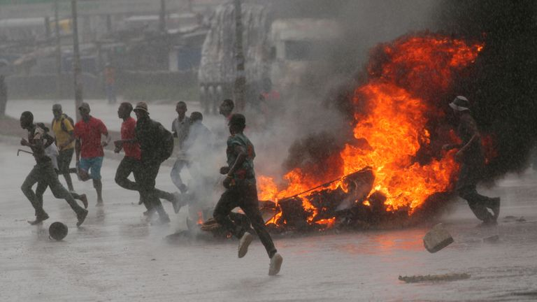 Zimbabwe's capital Hararer has seen violent protests in recent days