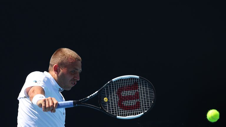 Dan Evans pulls off 'shot of the year' at Australian Open qualifying