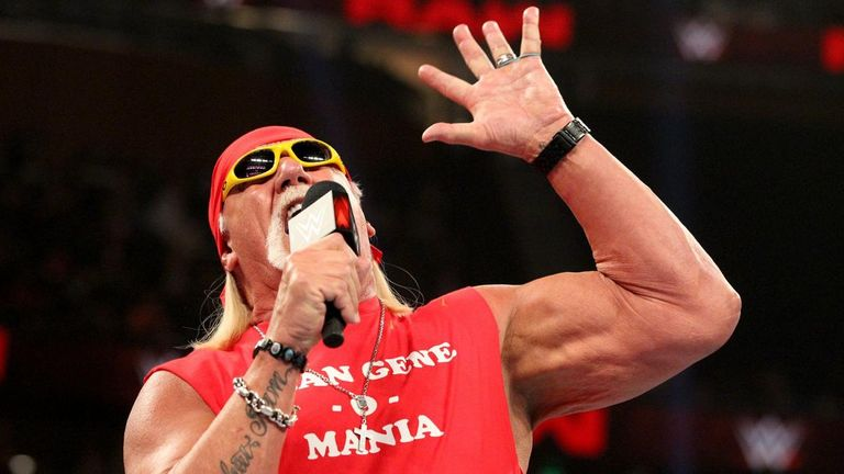 Hulk Hogan Returns to WWE Raw for 'Mean' Gene Okerlund Tribute
