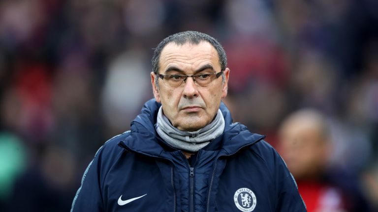 Chelsea top brass 'keen for Zinedine Zidane to replace Maurizio Sarri'