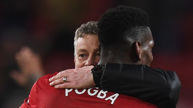 Paul Pogba has exclusively told Sky he wants Ole Gunnar Solskjaer to replace Jose Mourinho as Manchester United boss permanently.