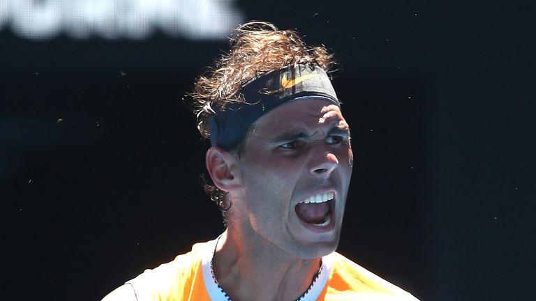 Australian Open 2019: Dan Evans shoulders slim British hopes against Roger Federer