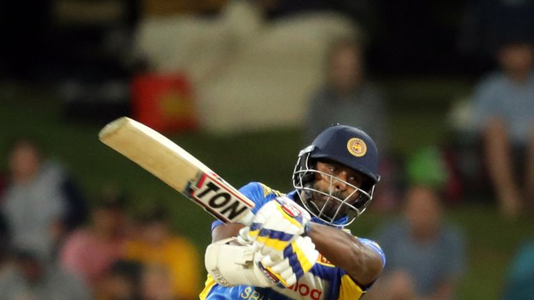 Sri Lanka all-rounder Thisara Perera hammered 13 sixes and eight fours in a stunning 140 from 74 balls against New Zealand.