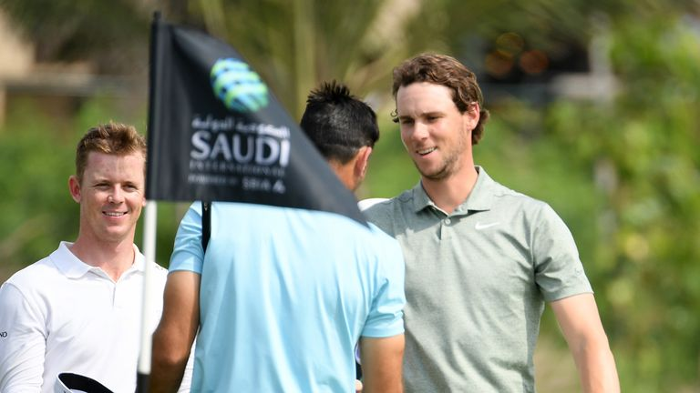 'Lucky' Li into joint lead in Saudi golf