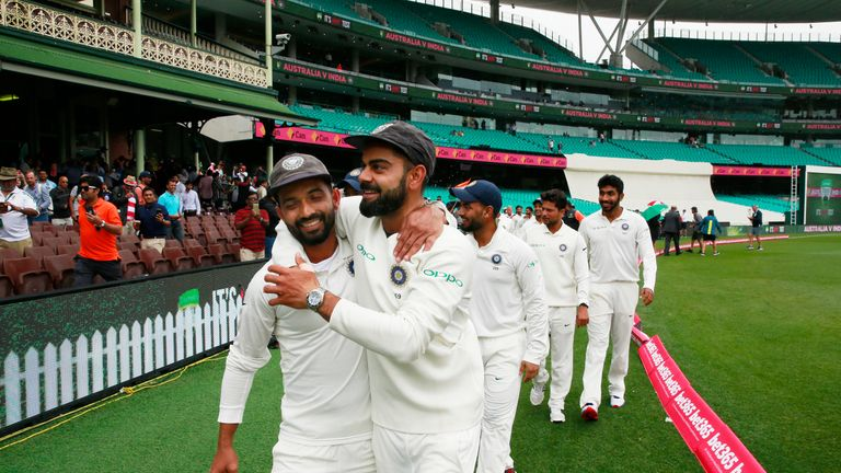 India captain Virat Kohli praises his side's hard work and belief after a first series victory in Australia.