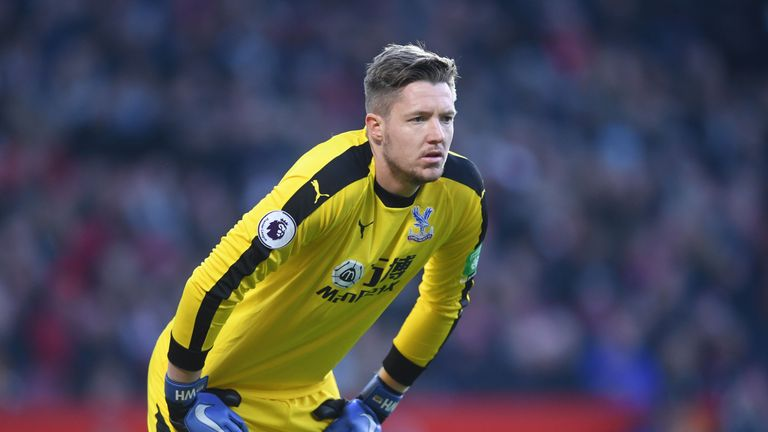 Crystal Palace 'keeper Wayne Hennessey denies 'Nazi salute' during team night out