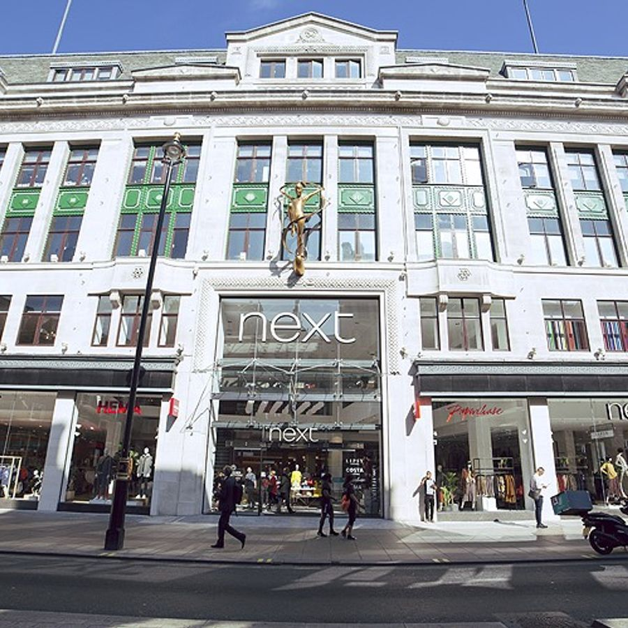 Next's store on London's Oxford Street