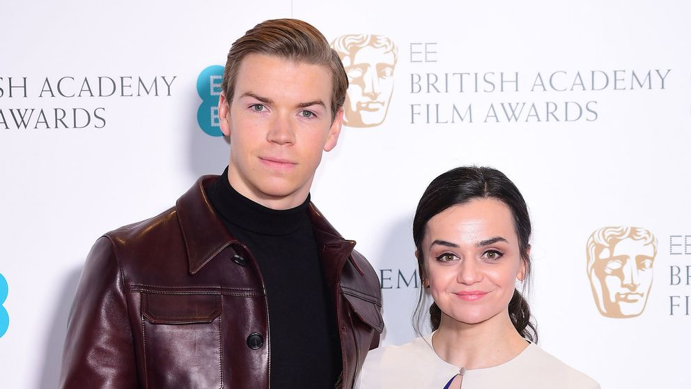 Will Poulter and Hayley Squires attending the EE British Academy Film Awards nominations announcement at BAFTA, LondoN