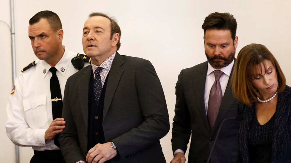 Spacey's lawyer entered a not-guilty plea on the actor's behalf