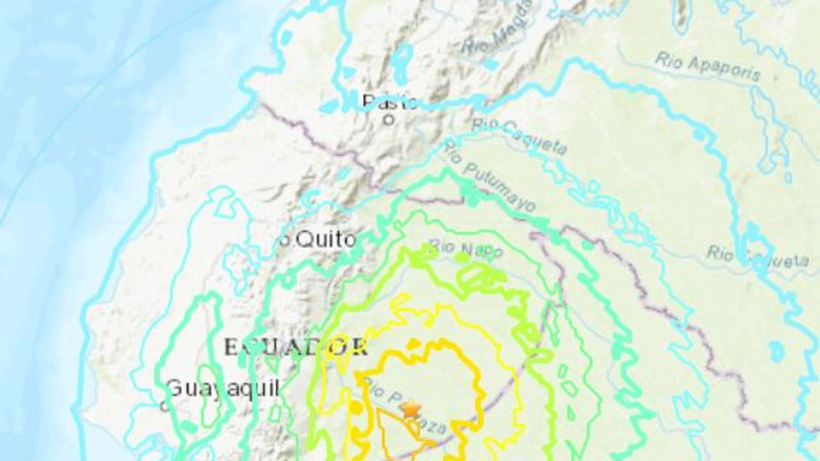 Powerful 7.5 magnitude quake hits Peru-Ecuador border