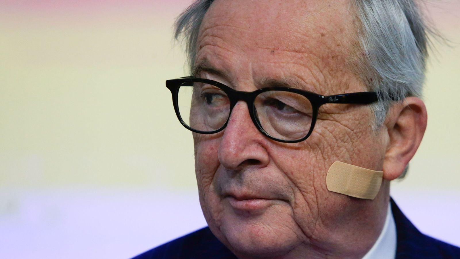 European Commission President Jean-Claude Juncker ...