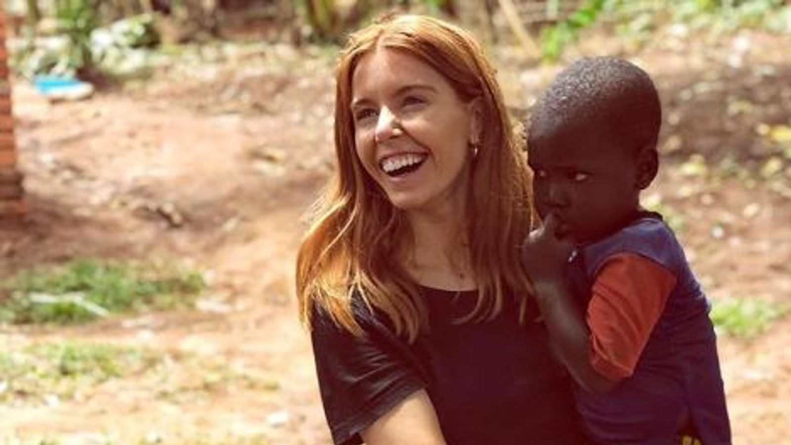 Stacey Dooley Comic Relief Documentary Pics Spark White Saviour Row Uk News Sky News