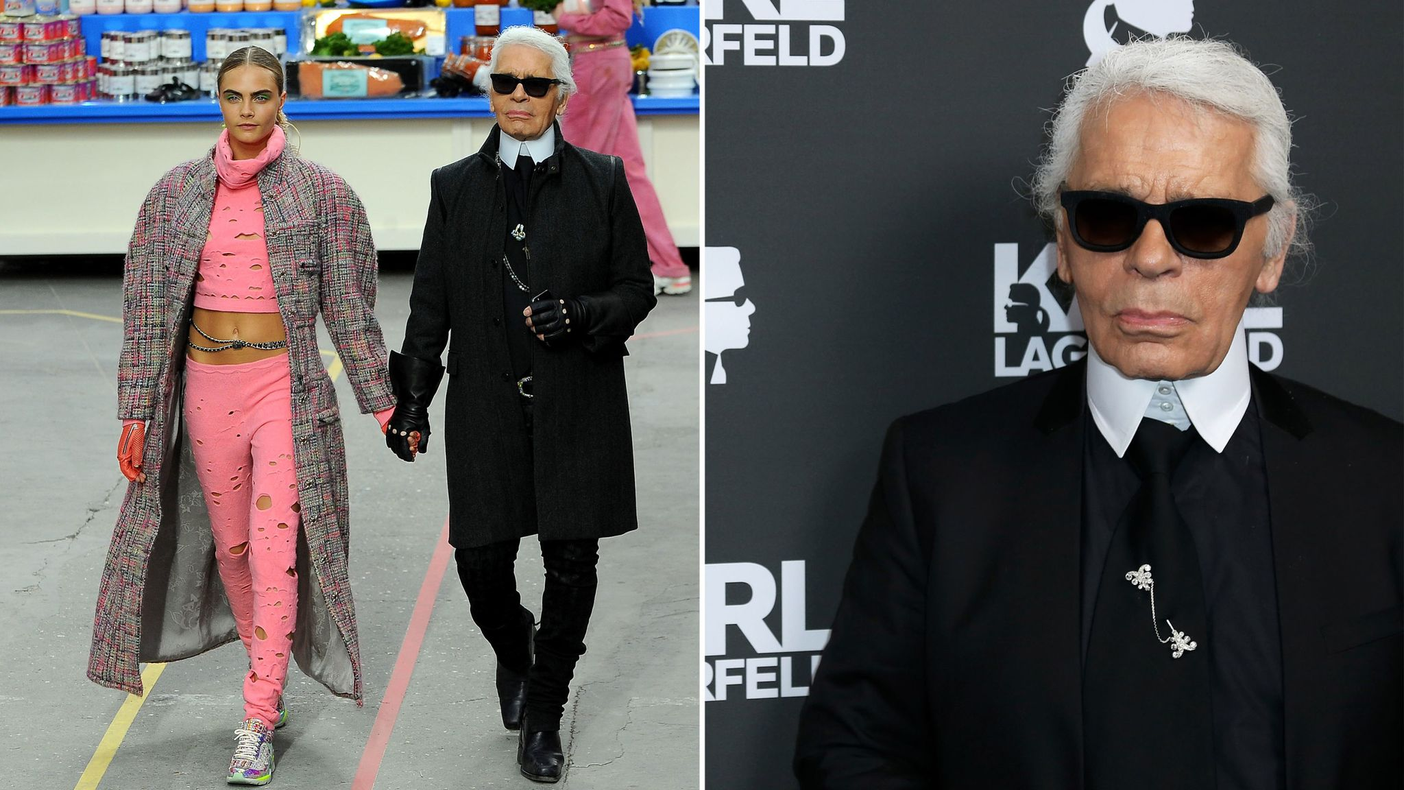Fashion Icon And Chanel Boss Karl Lagerfeld Dies Aged 85 World News Sky News