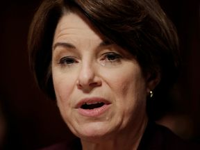 Amy Klobuchar joins a growing list of Democratic candidates fro the presidency