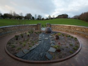 A memorial garden was opened at Mortonhall Crematorium in Edinburgh with 149 plaques of stillborn and dead newborn babies on