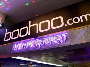 Boohoo has been accused of creating a publicity stunt