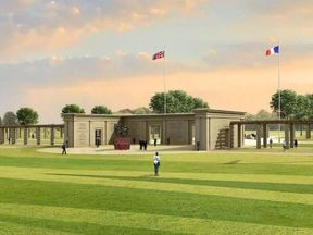 The proposed project is 'monstrous', say opponents. Pic: Normandy Memorial Trust