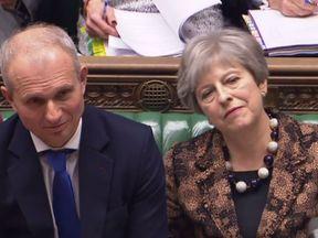 Theresa May and David Lidington