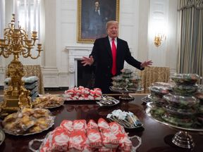 Donald Trump is a reportedly a fast food fan