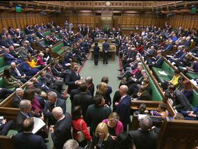 Theresa May suffered a defeat in the Commons on Valentine's Day