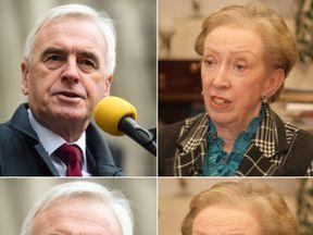 John McDonnell and Dame Margaret Beckett