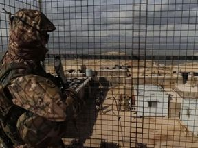 Lebanese military watchtower