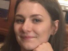 Libby Squire at a pub in High Wycombe, Buckinghamshire which she enjoys visiting with friends