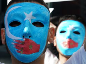 Pro-Uighur rally in New York