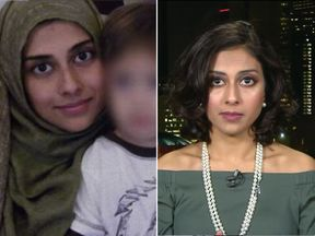 Former IS wife Tania Joya has urged the British public to have mercy on Shamima Begum. Pic: Tania Joya/Sky News