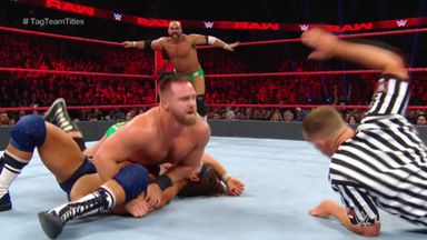 Revival win the Raw Tag Team Titles