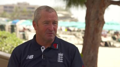 Farbrace emotional over England departure
