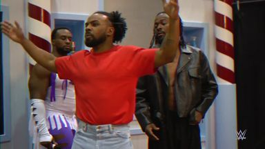 New Day recreate 'Barbershop window incident'