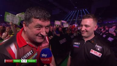Dobey ties with Suljovic