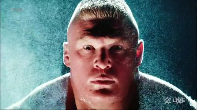 Lesnar's domination in WWE