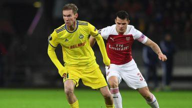 Hleb: Arsenal favourites for Europa
