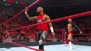 Ricochet helps Balor on Raw