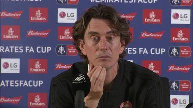 Frank: First-half we were very good