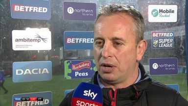 McNamara: We're still a bit clunky