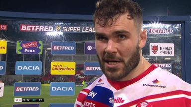 Walmsley: We made it tough